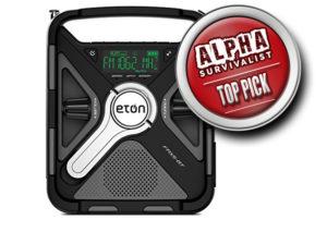 Best Hand Crank Radio - Eton FRX5BT Emergency Hand Crank Radio -TP
