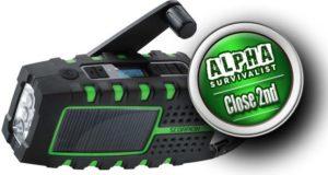 Eton Scorpion II Emergency Hand Crank Radio -Close Second