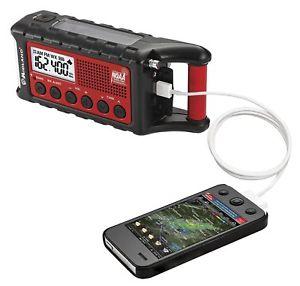 Midland ER310 Charging Mobile Phone