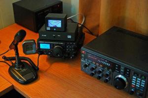 Home Ham Radio Set up