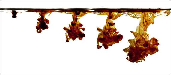 Iodine drops water purification