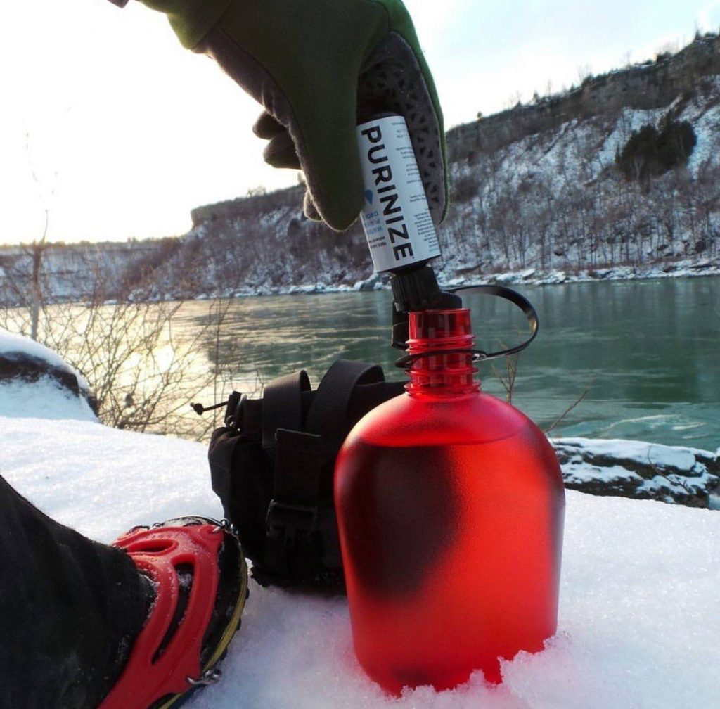 PURINIZE Chemical Free Camping and Survival Water Purification