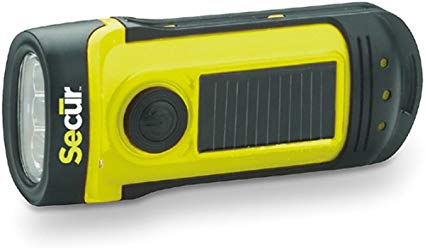 SECUR Dynamo 8 Solar Flashlight